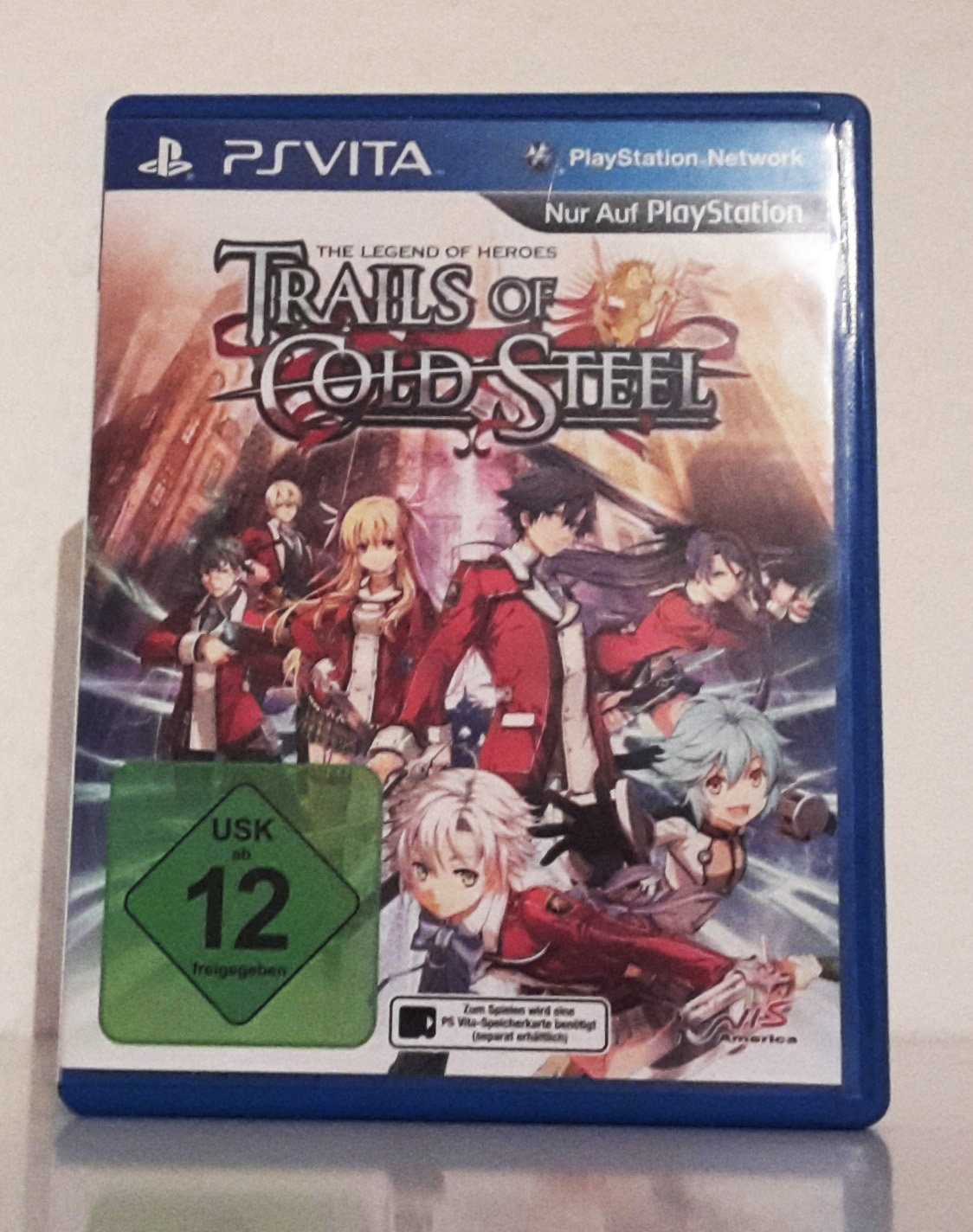 Trails of Cold Steel - Vorderseite