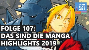 Shortcuts - Episode 107: Das sind die Manga-Highlights 2019 (mit Speckolga & Nino)